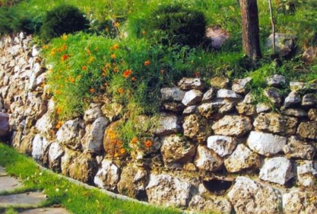 Геосетка поможет быстро уплотнить верхний слой склона, который наиболее подвержен оползням и разрушениям разного рода, а также декорировать его после основных работ