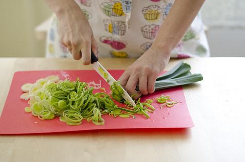 Лук-порей используется в рецептах многих кухонь мира