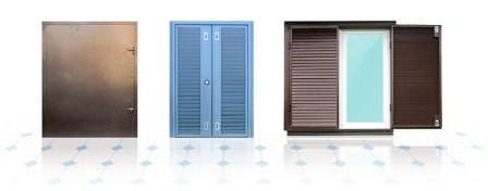 Выбирайте ставни разного формата строго под дачный дом