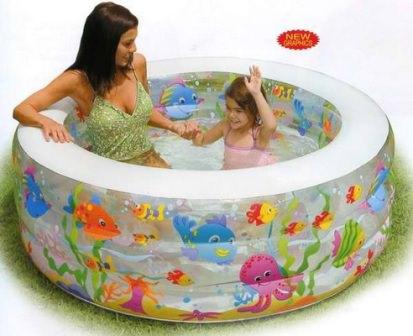 Выбирая модель надувного бассейна, размер, форму и цвет, каждый из нас основывает свое мнение на месте расположения бассейна, которое уже определено