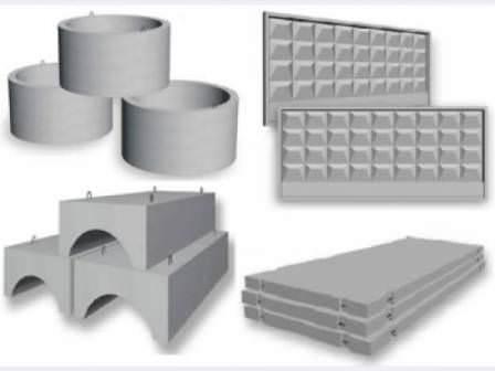 Железобетонные изделия для строительства на даче