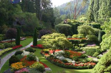 Сад в средиземном стиле