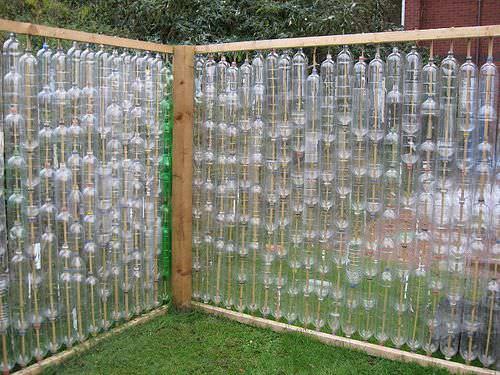 Теплица из пластиковых бутылок своими руками