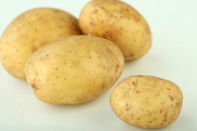 Товарность клубней картофеля «Бентье» составляет до 87 %