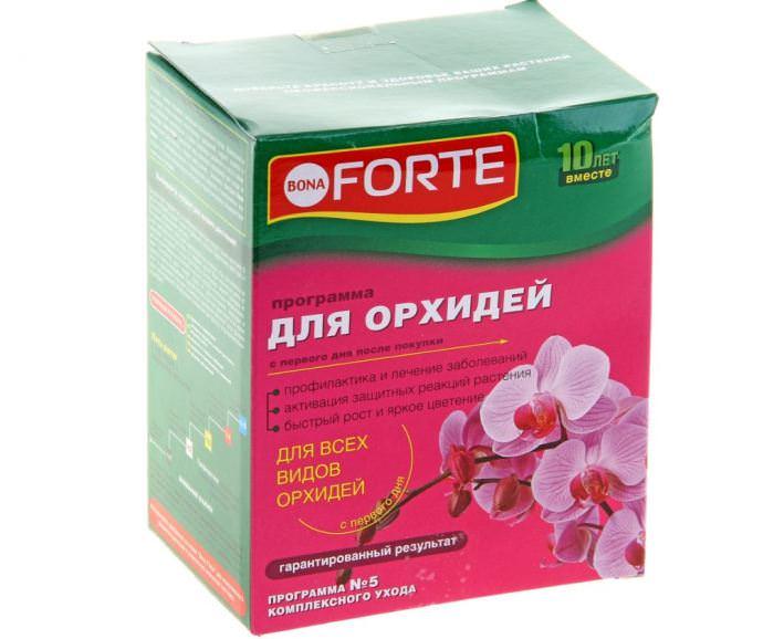 «BonaForte» — специальный тип удобрения для комнатных орхидей