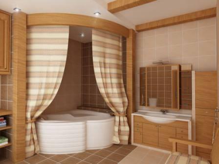 Хотите сделать шикарную ванную комнату на даче? Нет никаких проблем, стоит только составить проект и приступить