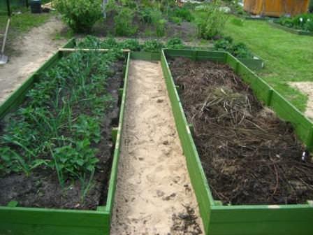 Учимся строить высокие грядки и огороды на даче самостоятельно