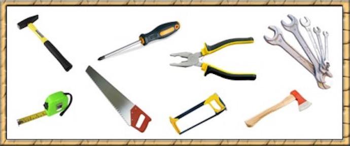 Для сооружения можно использовать самый обыкновенный инструмент