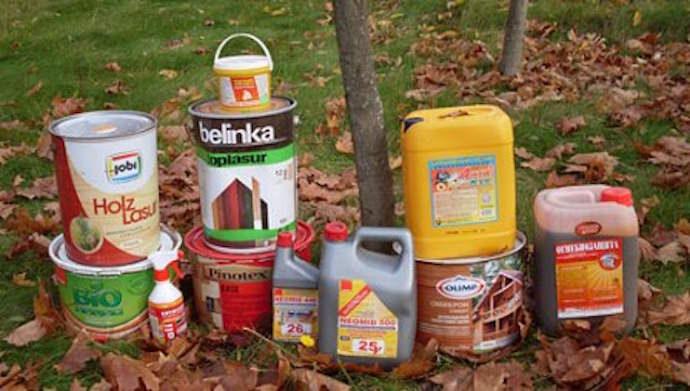 Выбирайте только качественные составы, пропитки и прочие средства для защиты древесины