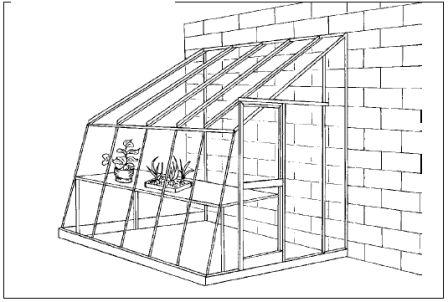 Строим примыкающую зимнюю теплицу, определяем ее возле дачного дома или хозяйственной постройки