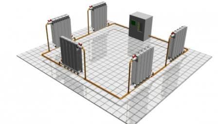 Системы водяного (парового) отопления имеют невысокую себестоимость получения тепловой энергии