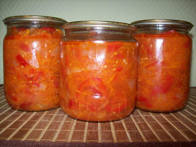 Салаты консервированные с болгарским перцем рецепты с фото
