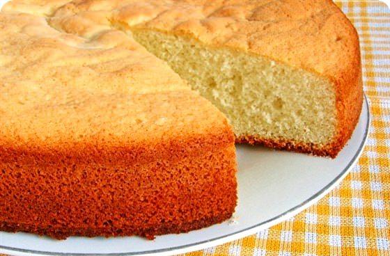 Как завести бисквитное тесто на торт
