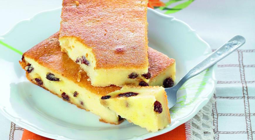 Рецепт сырной запеканки в духовке