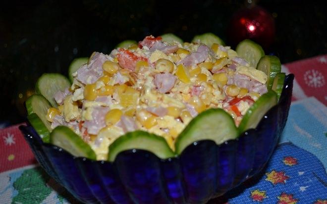 пекинский салат с блинами рецепт