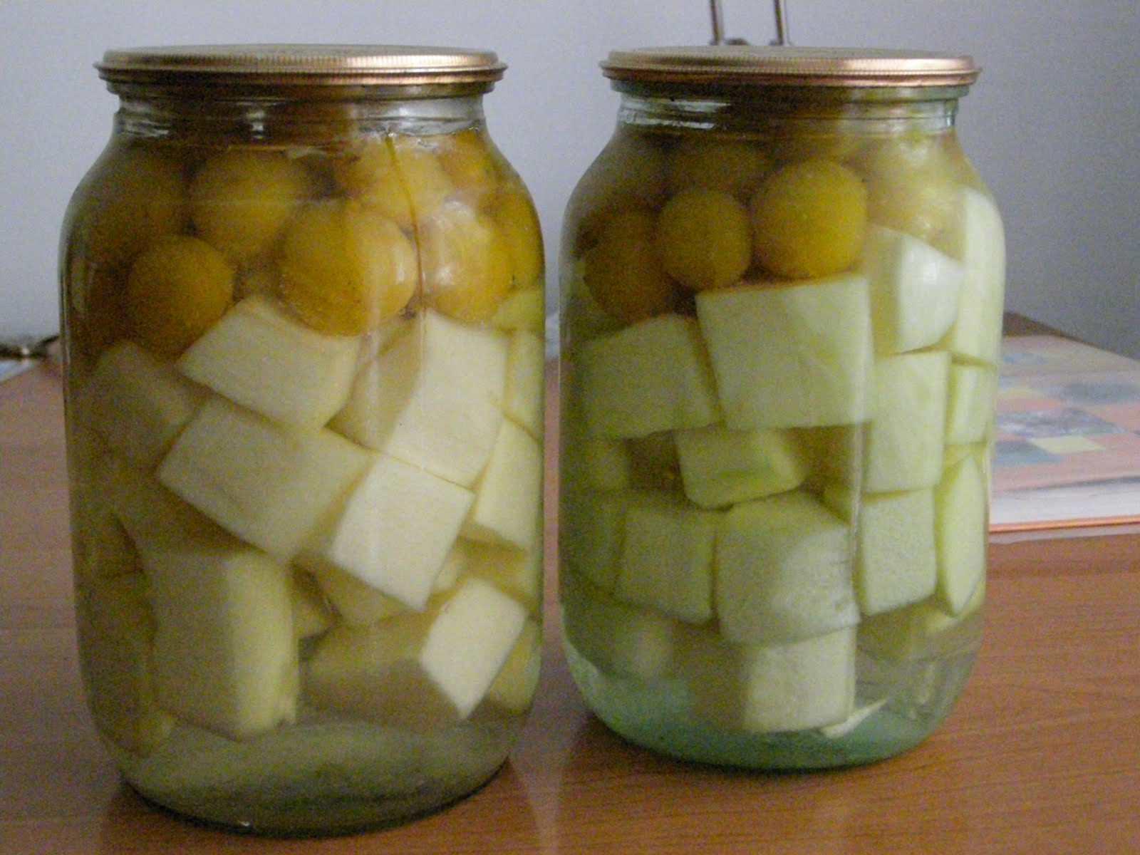 Необычная консервация, напоминающая по вкусу ананасы в сиропе