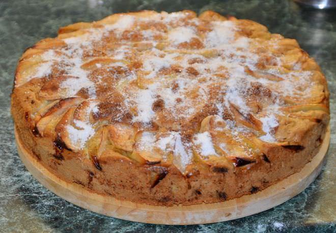 Пирог шарлотка рецепт с фото
