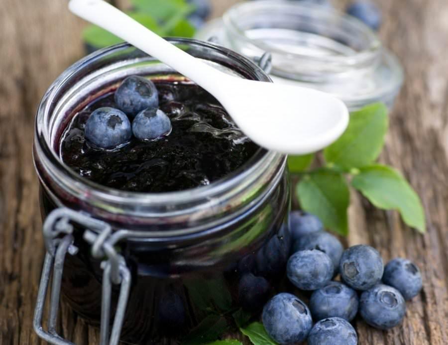 Консервирование черники на зиму, рецепт без сахара