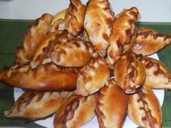 Пирожки на бездрожжевом тесте получаются пышными и легкими