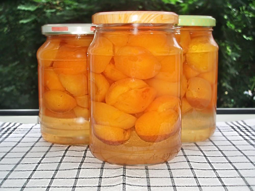 варенье абрикосы в сиропе можно носить пуховиками