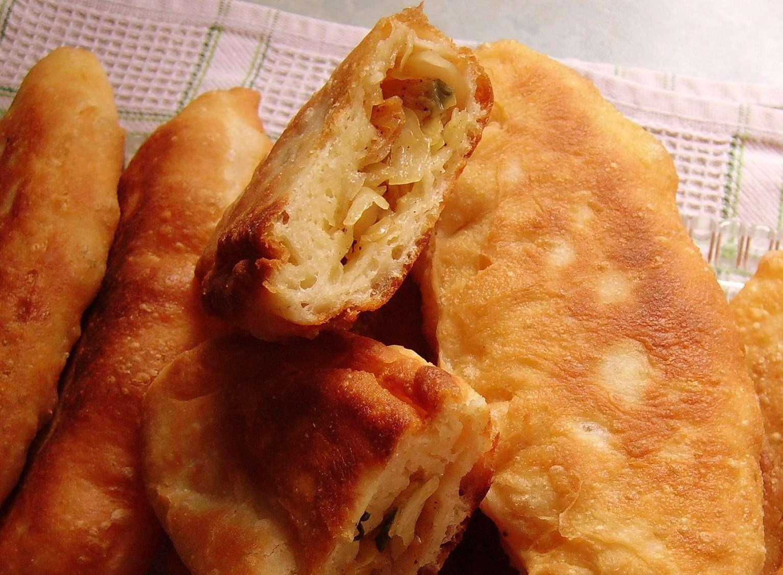 пироги с капустой жареные