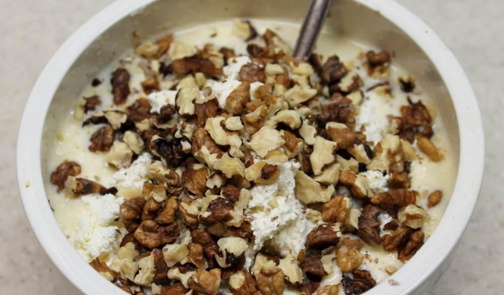 Можно использовать больше грецких орехов, чем указано в рецепте