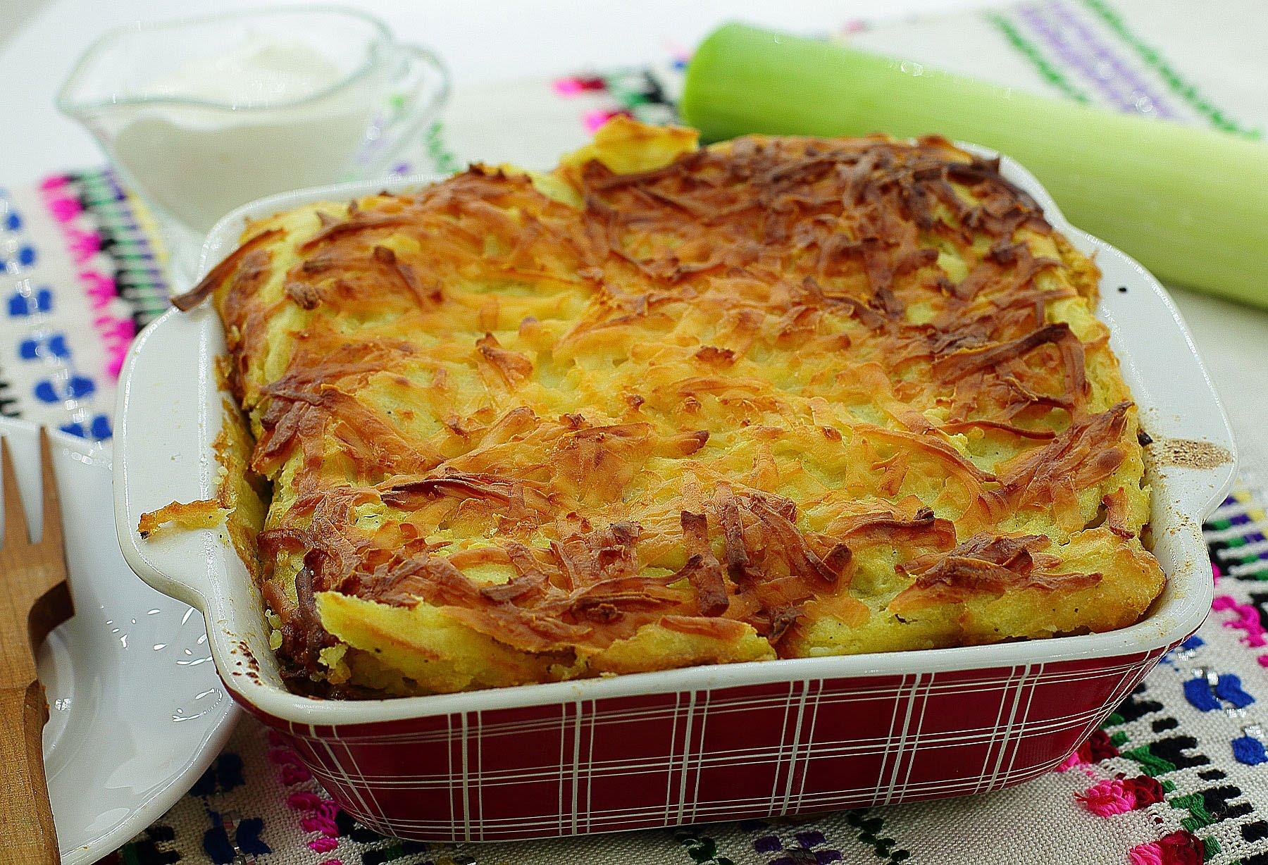 рецепт запеканки с мясом и с картошкой в духовке