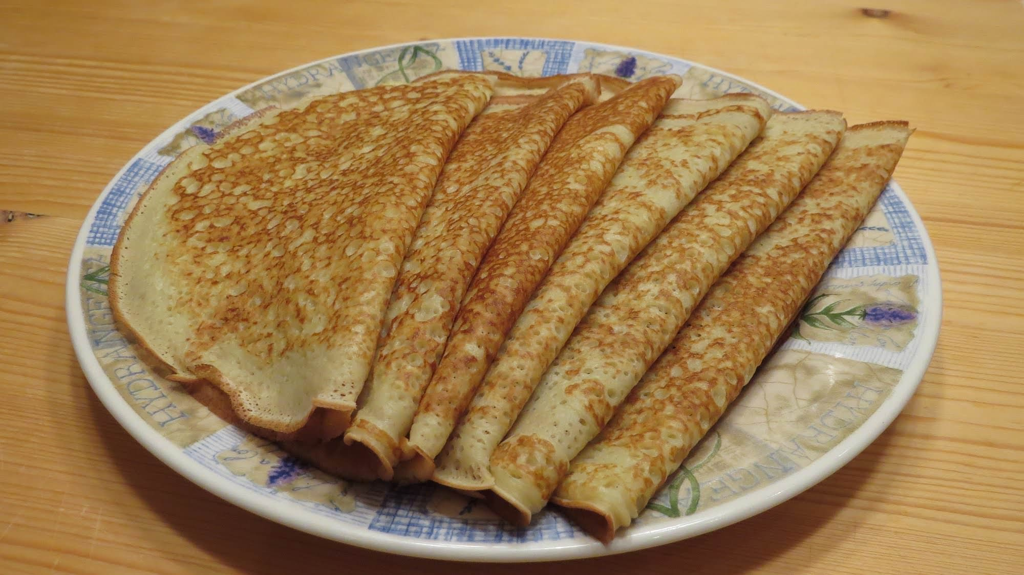 Рецепт вкусных блинов на молоке тонкие с дырочками рецепт с фото пошагово