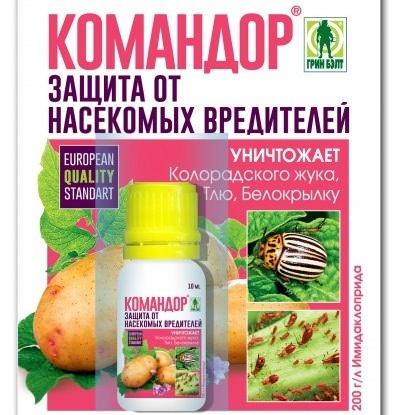 Препарат Командор относится к универсальным инсектицидам