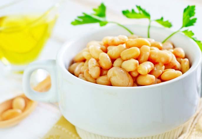Правильно приготовленная консервированная фасоль способна сохранять все полезные вещества