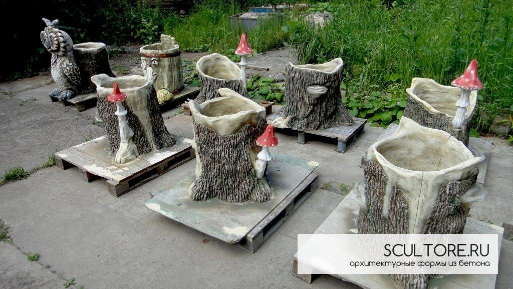 статуэтки из бетона
