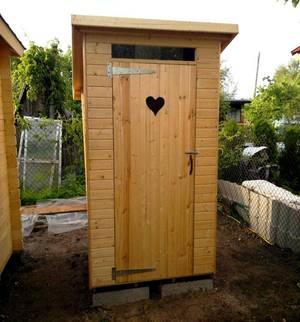 Место для туалета