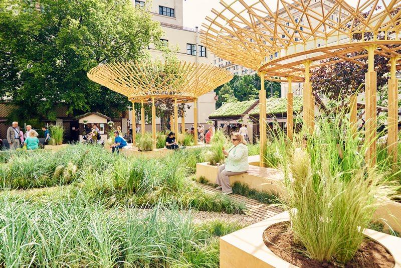 Открытый международный конкурс городского ландшафтного дизайна «Цветочный джем» — 2018