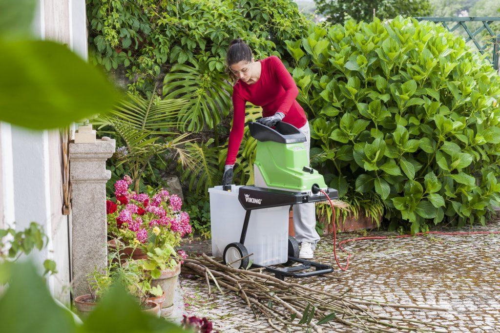 Как ускорить уборку сада?