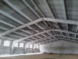 Строительство ангара из железобетонных плит на даче