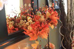 Топиарий из листьев станет прекрасным декором для любой комнаты