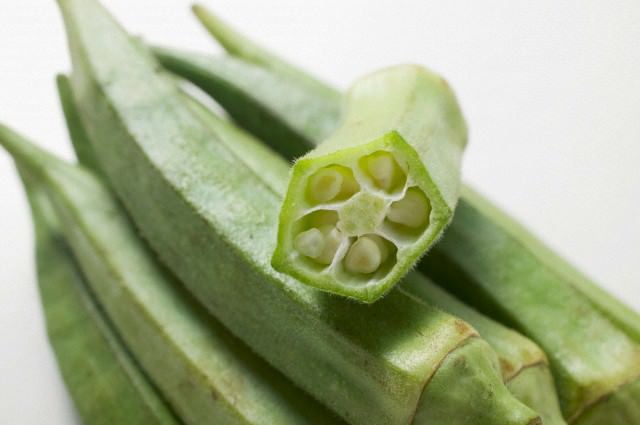 Растение бамия (10 фото)