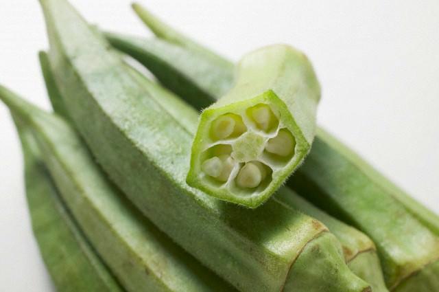 Овощ бамия (10 фото)