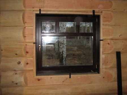 Правильно установленные окна и двери в дачной бане - залог качественного обеспечения энергосбережения