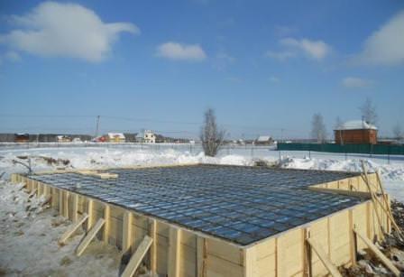 Зимний бетон и специальные добавки