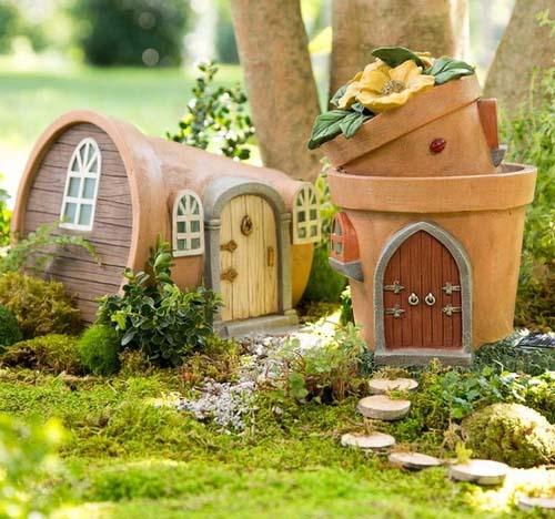 Гномики и эльфы на садовом участке