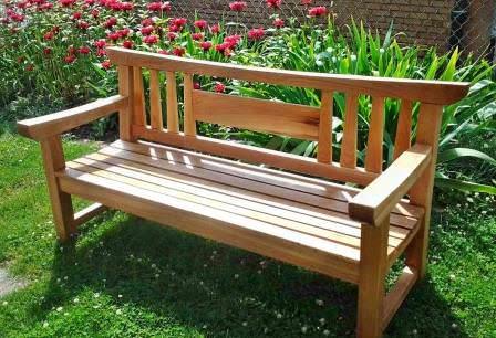 Садовая скамейка своими руками: подробная инструкция