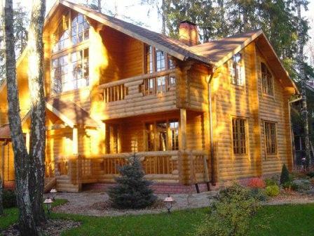 Практичность деревянного дома
