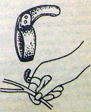Простое стальное кольцо, которое значительно ускорит работу по подвязке растений