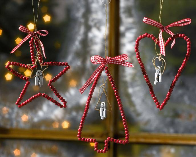 Новогодние игрушки елки своими руками из бисера