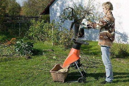Чертеж измельчитель садовый электрический своими руками.