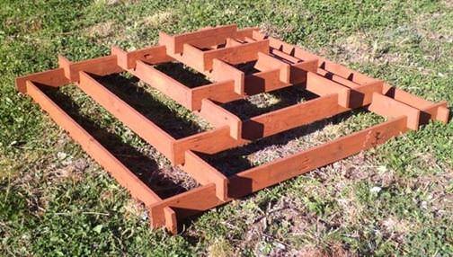 Пирамидальная клумба своими руками: пошаговая инструкция и особенности использования