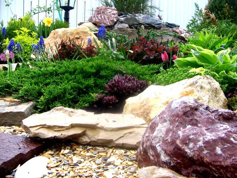 Красивые камни своими руками