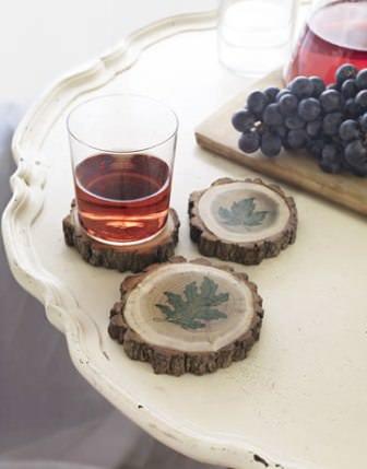 Удобные подставки под посуду из дерева своими руками