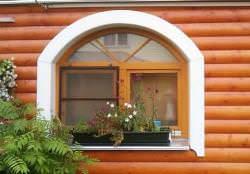 Пластиковые окна на дачу